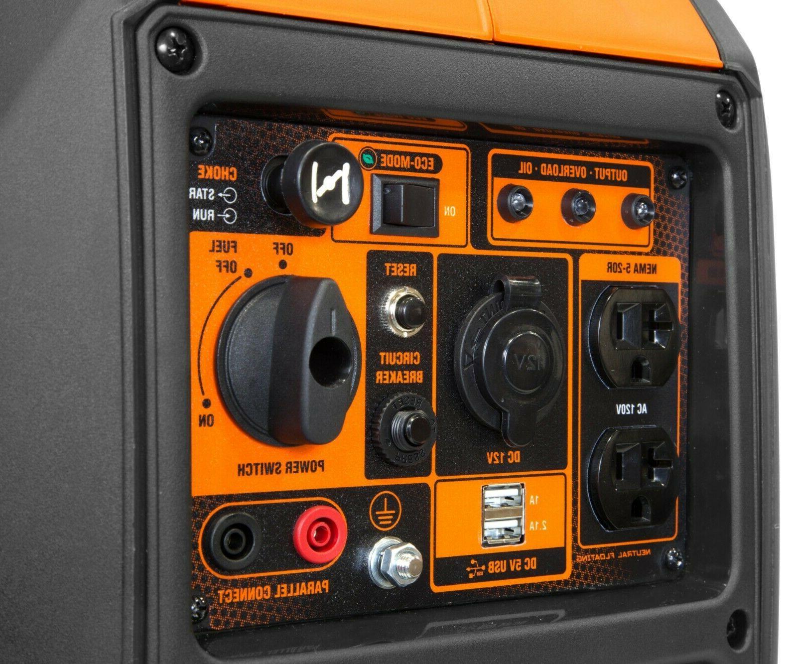 WEN 2350-Watt with Fuel