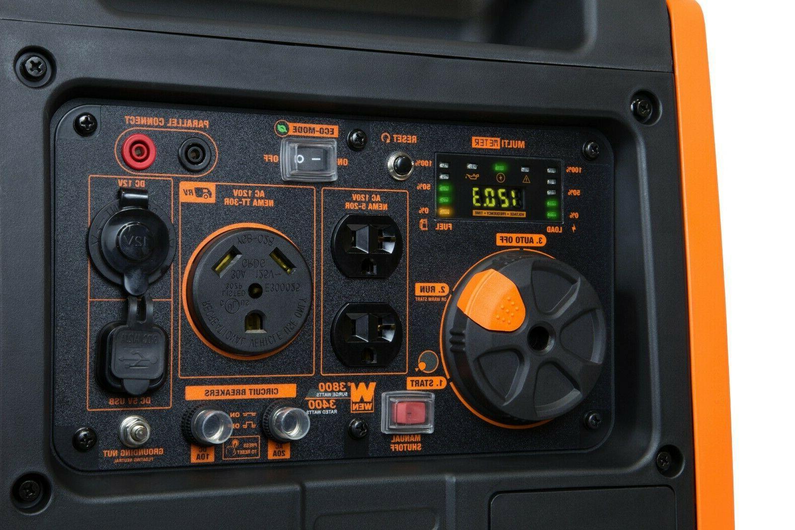 WEN Super Quiet 3800-Watt Portable with
