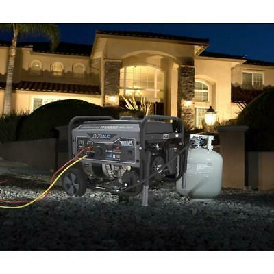 Pulsar 6500 Peak/5500 Rated Watts Gas/LPG Fuel Portable Generator Ready