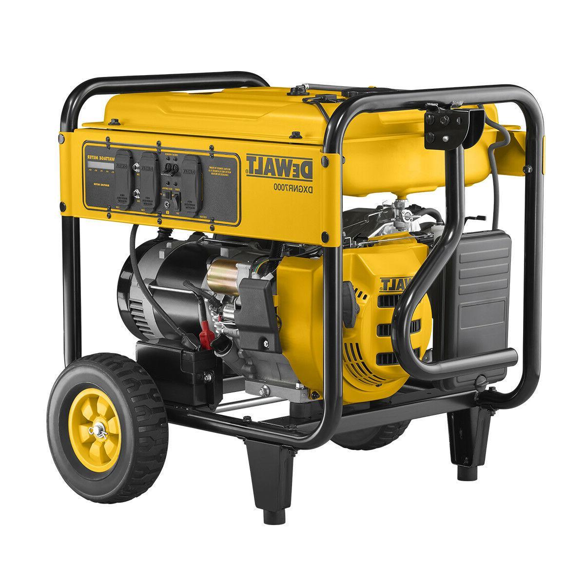 7000 watt portable generator new electric start