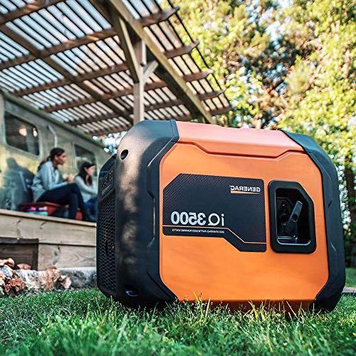 Generac Portable Than Honda, Orange/Black