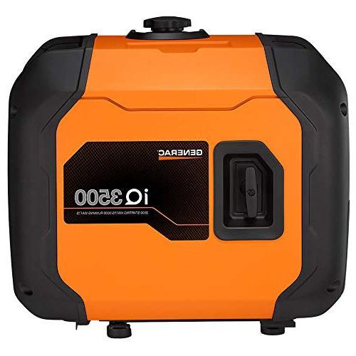 Generac 7127 Portable Than Honda, Orange/Black