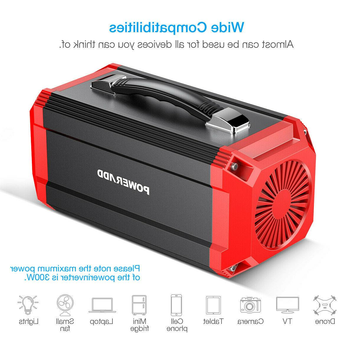 Poweradd 73000mAh Portable Power Power Bank 300W Output
