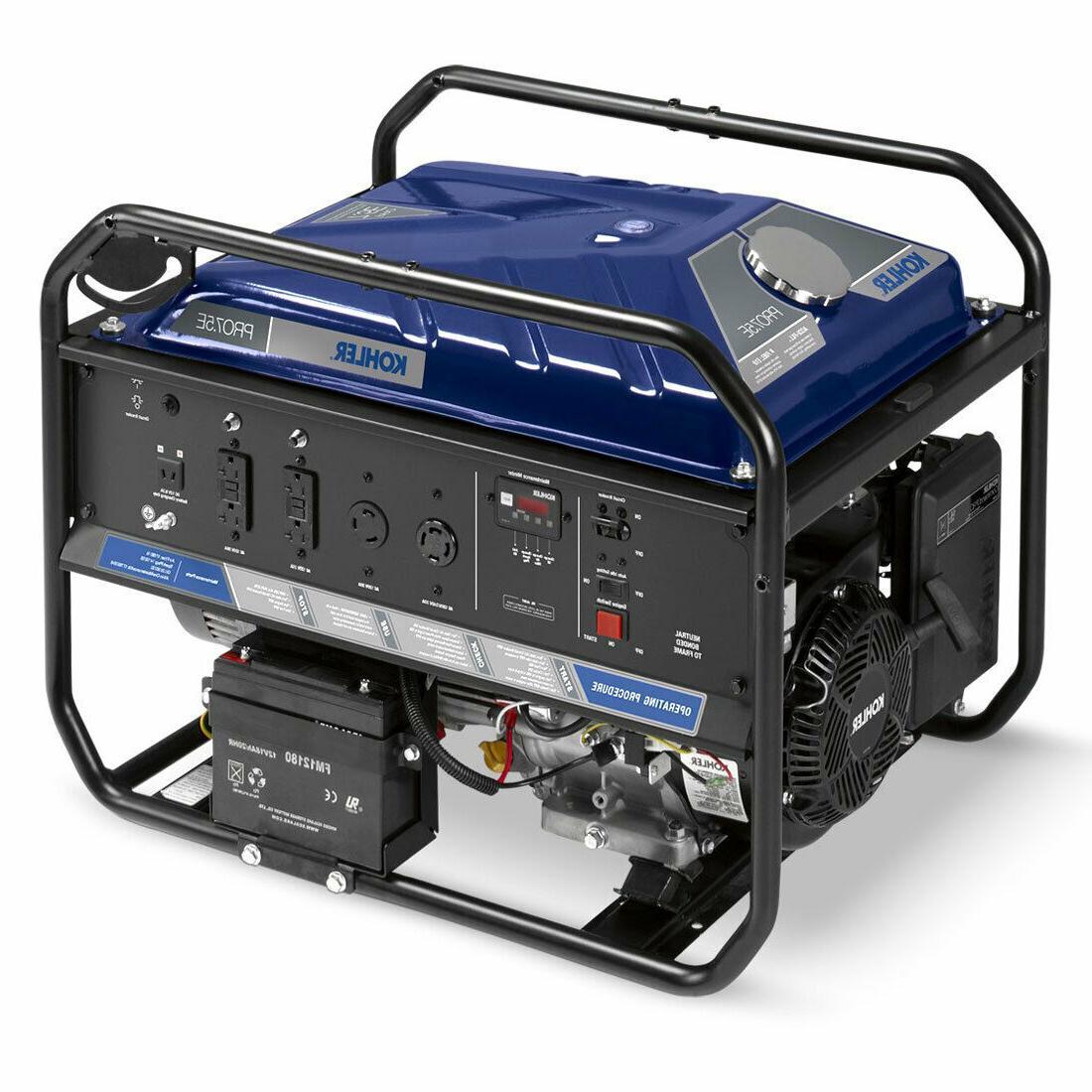 7500w portable generator elec start 3 year