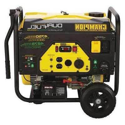 CHAMPION POWER EQUIPMENT 76533 3800W Dual Fuel Portable Gene