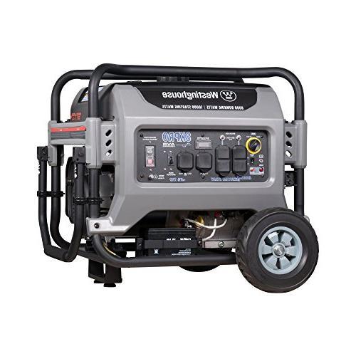8kpro gas powered portable generator