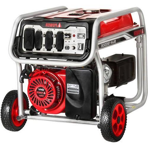 A-iPower Gasoline Powered Portable Generator w/ Start