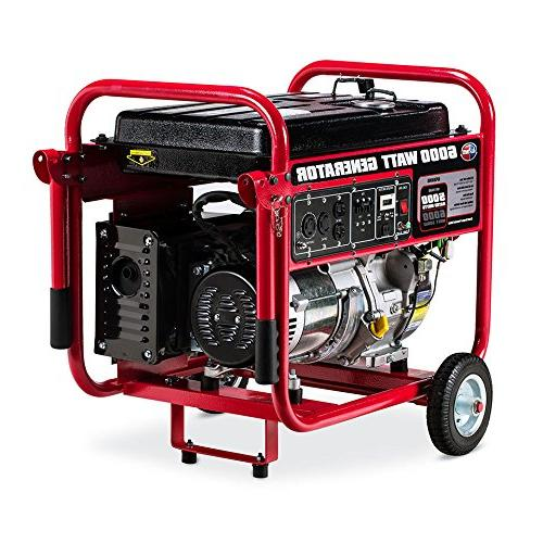 All Power 6000 6000W Gas Portable Certified