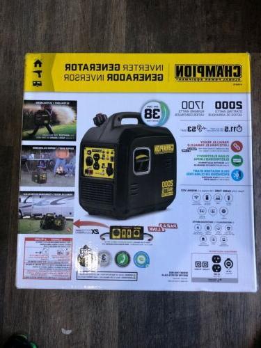 champion 100478 power equipment portable inverter generator