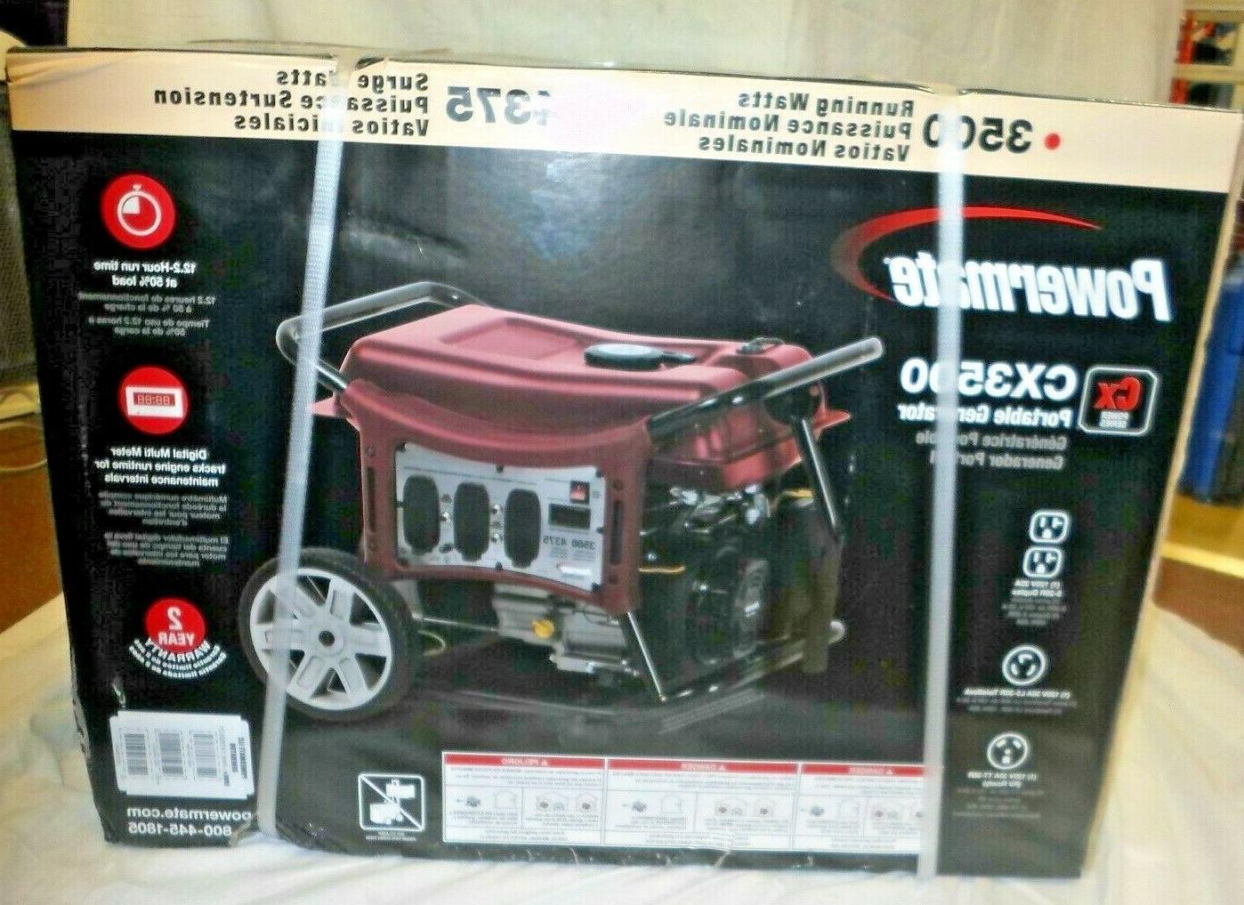 cx3500 3500 watt portable generator w rv