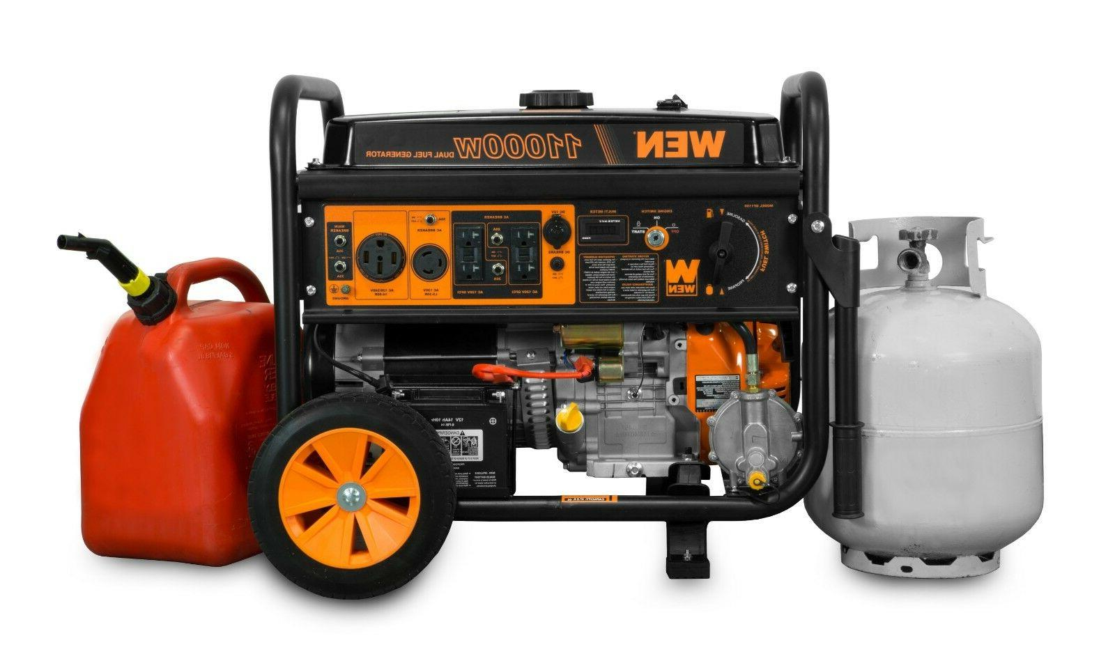 WEN DF1100T Dual Fuel with Kit