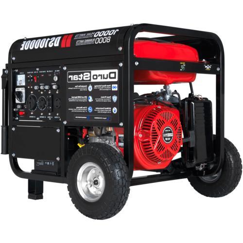 Durostar DS10000E, 8000 Running Watts/10000 Starting Powered