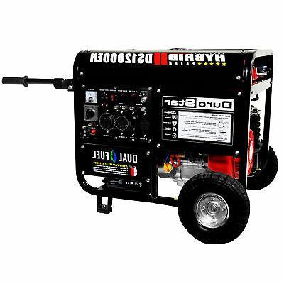 DuroStar DS12000EH 12,000-Watt Portable Hybrid Gas Propane Generator