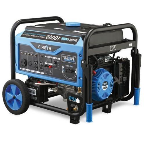Pulsar Gas/Propane Generator Start