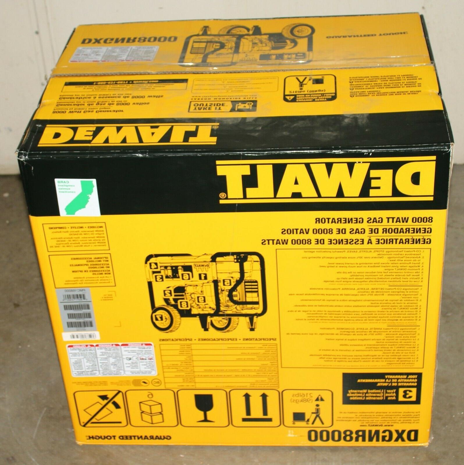 DeWALT Powered Start Portable Generator
