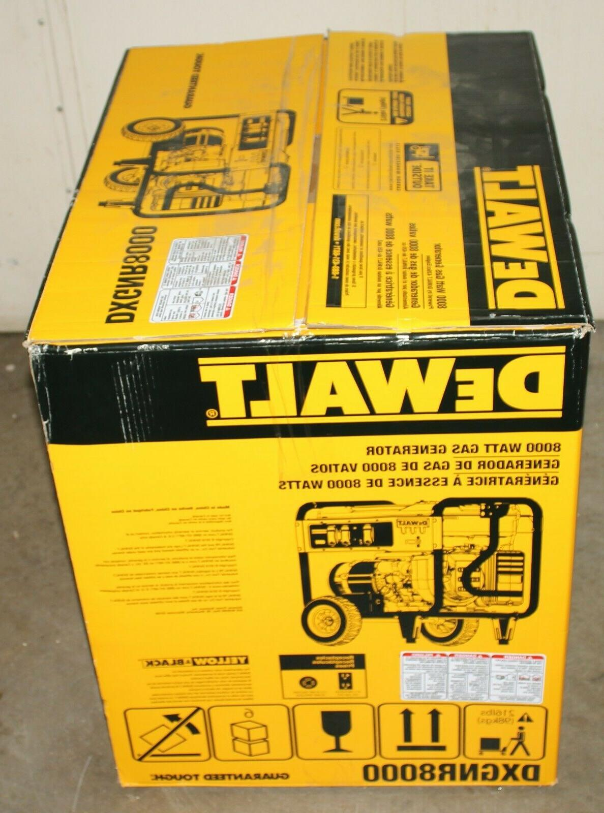 DeWALT DXGNR8000 8,000-Watt Powered Start Generator