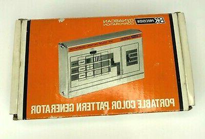 dynascan 1211 portable color pattern generator handheld