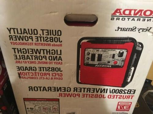 eb2800i 2800w 120v inverter portable gas generator