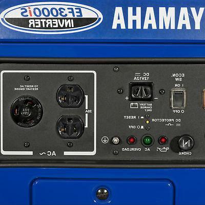 Yamaha EF3000iS Gas Powered Power Inverter