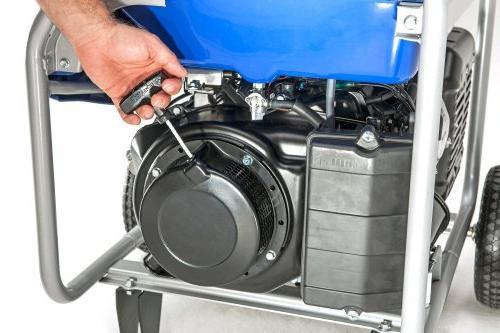 Yamaha EF7200D with Manual Start, 7200-watt