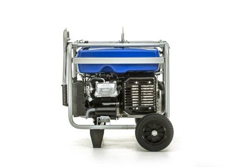 Yamaha EF7200D Generator Manual Start,
