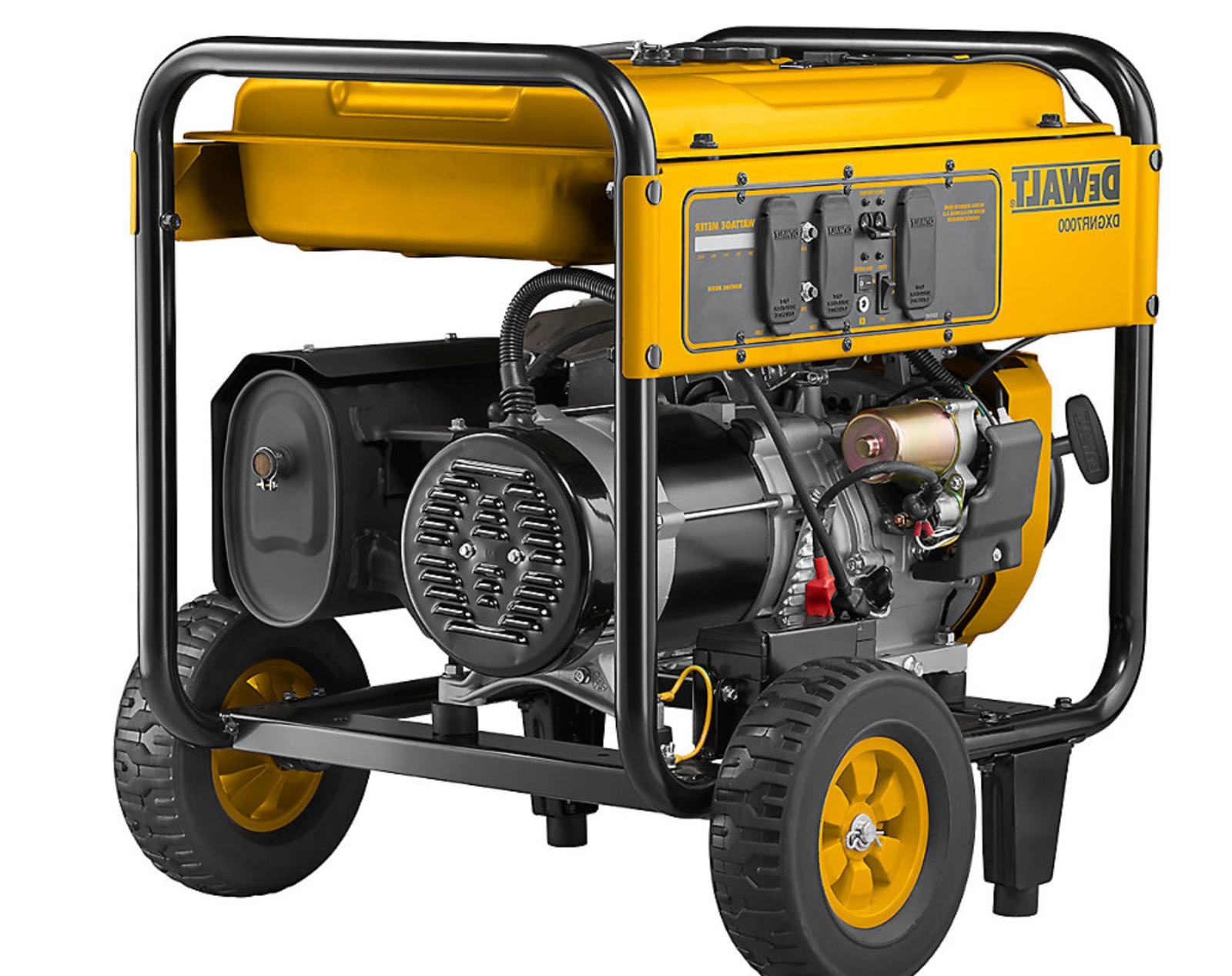 electric start generator dxgnr7000 with gfci outlets