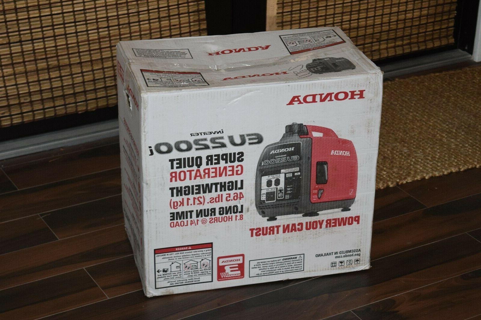 eu2200i inverter portable generator