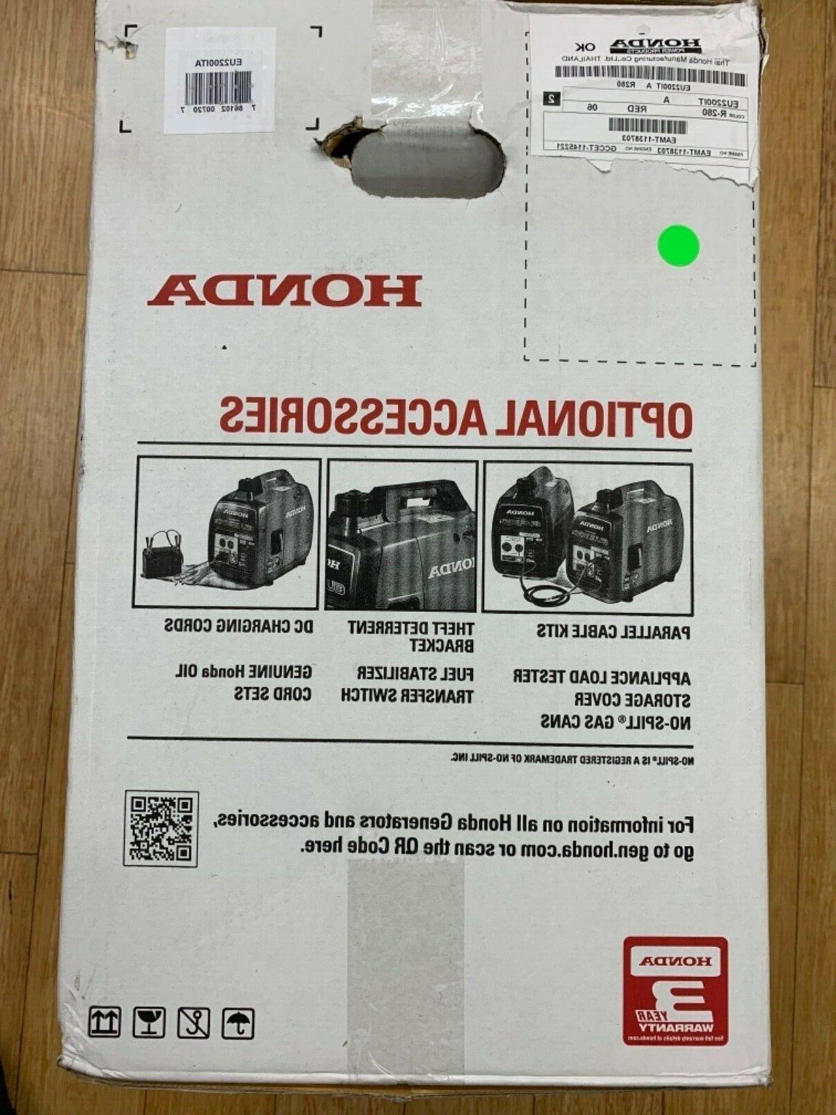 HONDA super 2200 generator inverter