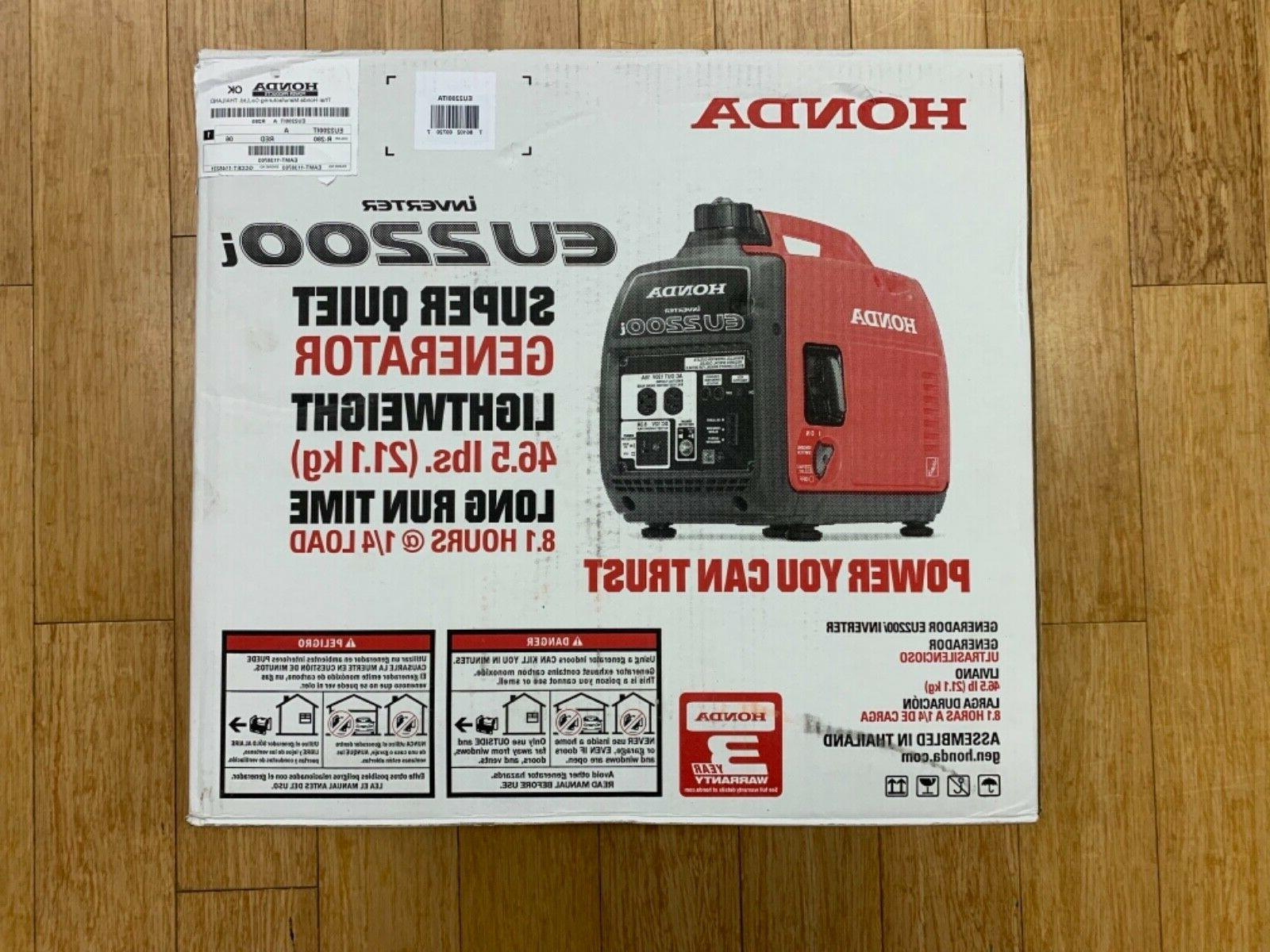 eu2200i super quiet 2200 watt 120v portable
