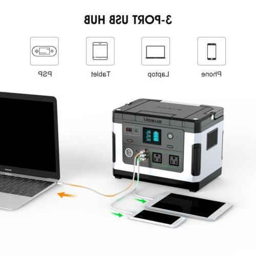 Suaoki Portable Power 600W Supply