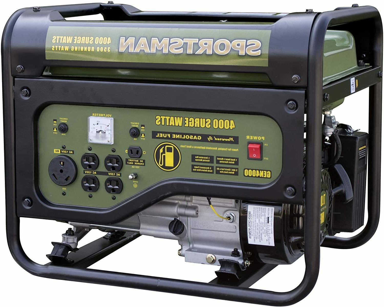 Sportsman Watts/4000 Watts, Powered Portable