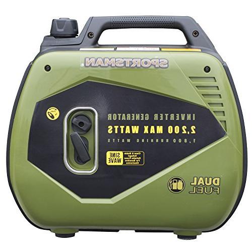 Sportsman 2200 Watt Dual Fuel for Sensitive