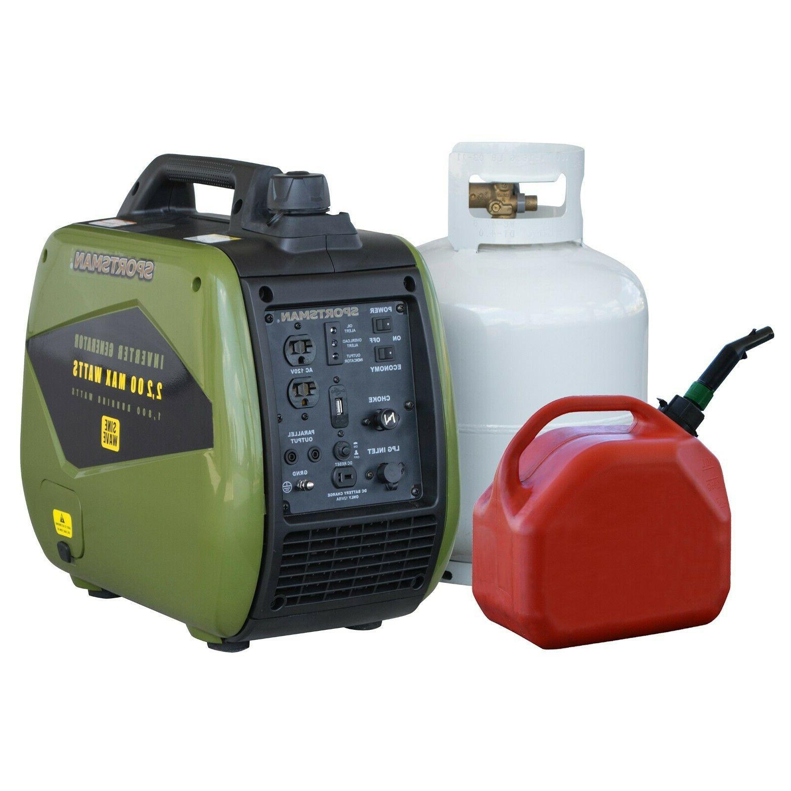 gen2200dfi dual fuel inverter generator