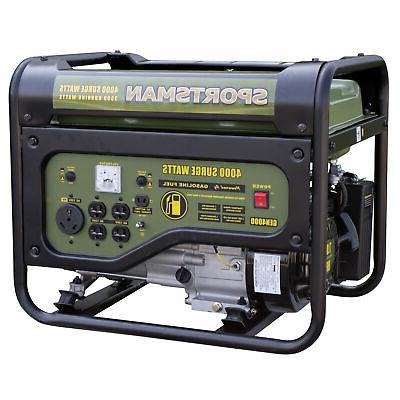 gen4000 gasoline 4000 watt portable generator rv