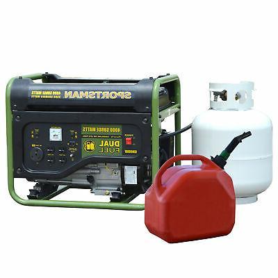 gen4000df 4000 watt portable dual fuel generator