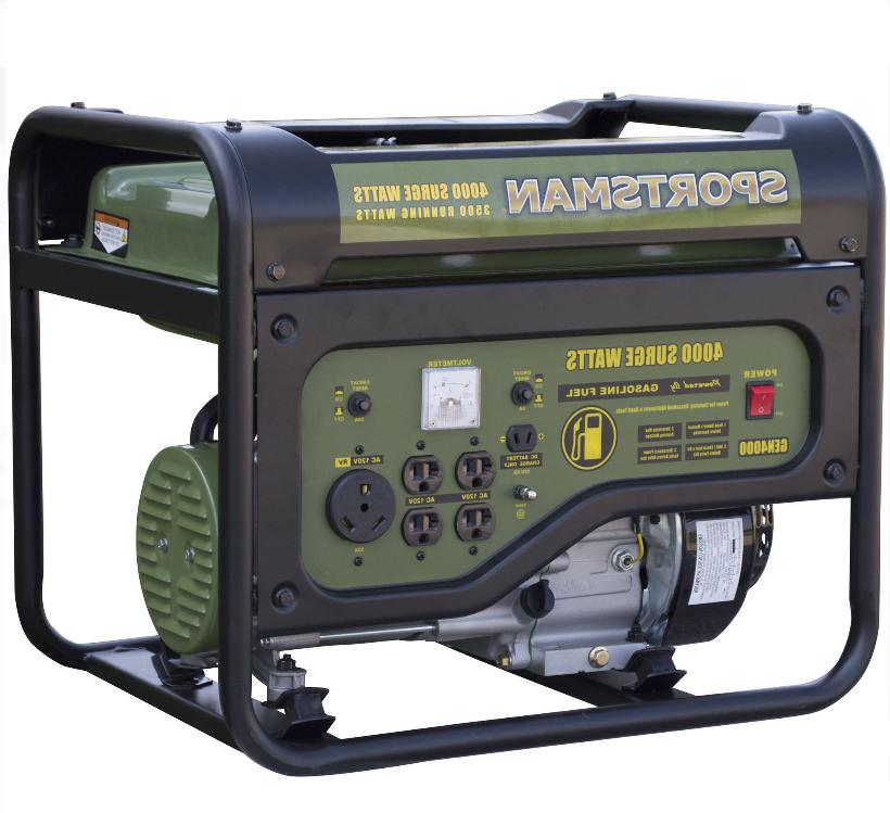 Generator 3.6 gal. Gas Portable 4 Stroke Grill Style, New