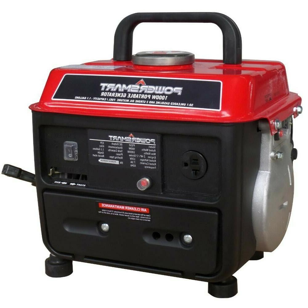 generator 900 watt gasoline powered manual start
