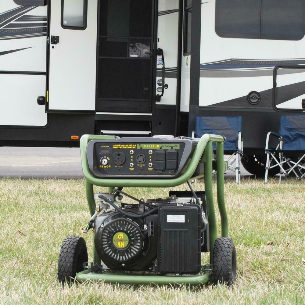 generator electric start portable 9 000 8