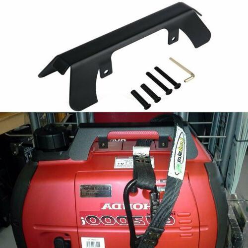 generator theft deterrent bracket protection for honda