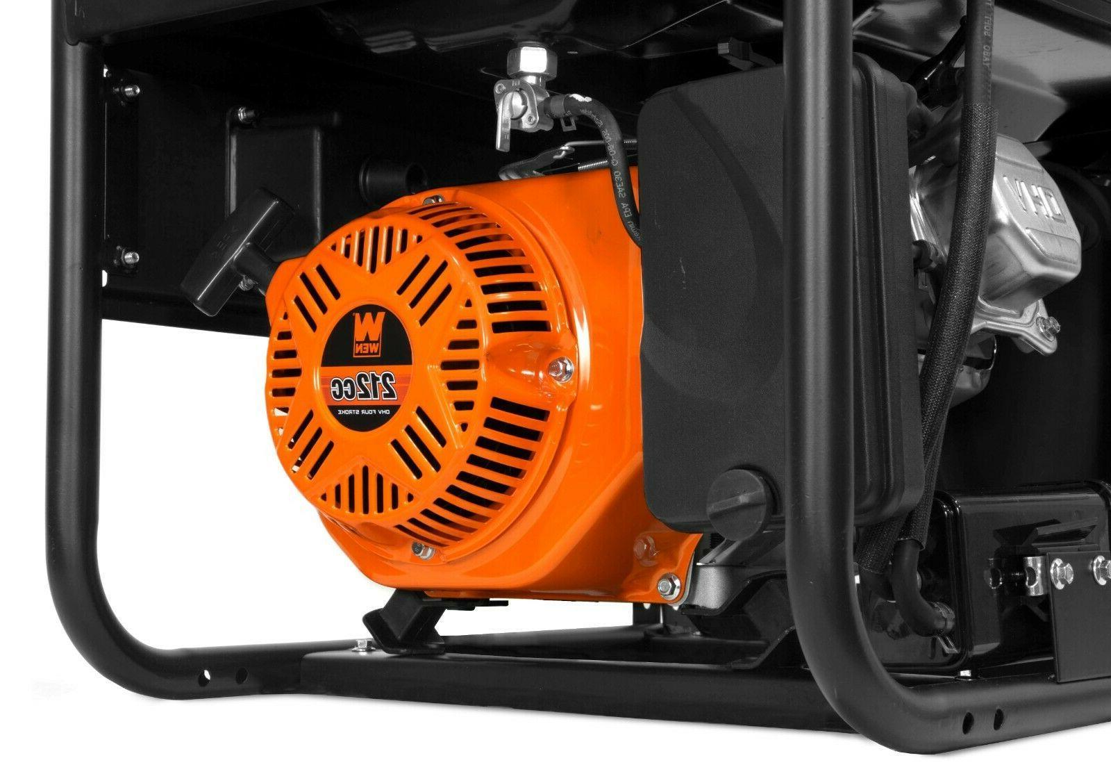 WEN GN4500 4500-Watt Transfer and Portable Generator,