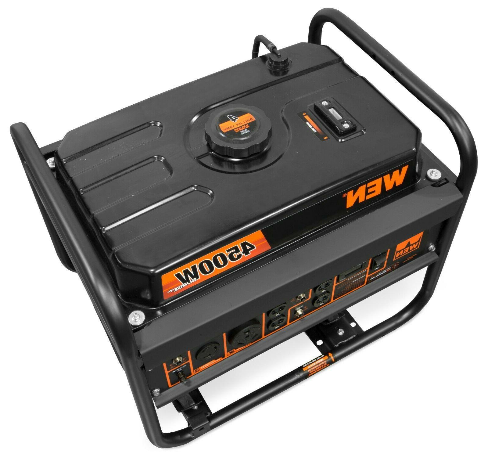 WEN GN4500 4500-Watt 212cc Transfer and Portable
