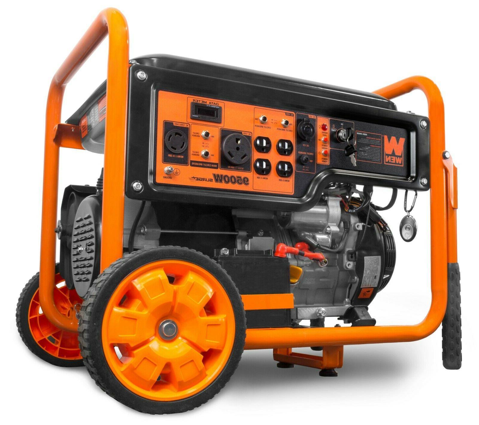 WEN 420cc Transfer Ready Portable Generator