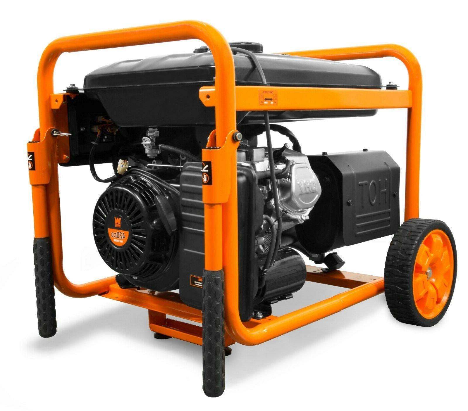 WEN 9500-Watt 420cc Transfer Switch/RV Ready 120V/240V Portable