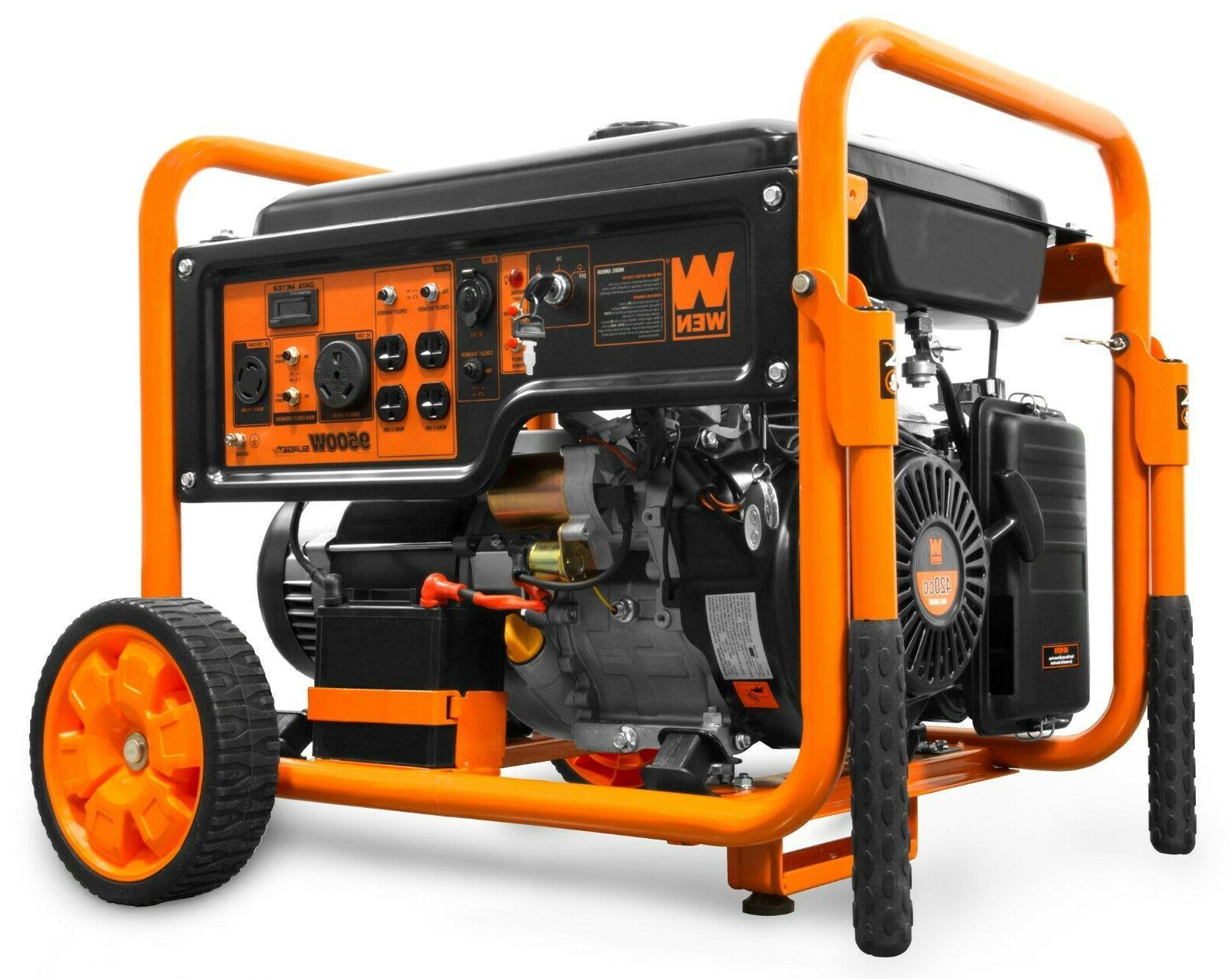 gn9500 9500 watt 420cc transfer switch rv