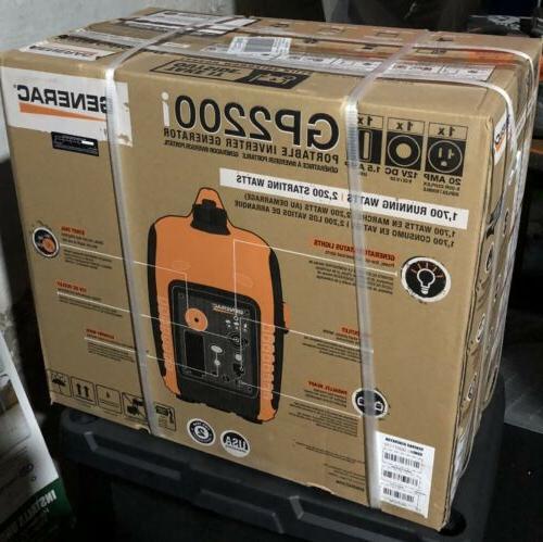 gp2200i 2 200 watt portable inverter generator