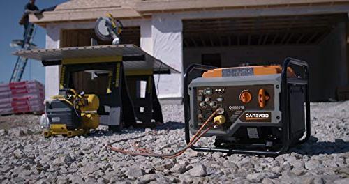 Generac Open RV Ready Inverter Generator - 3500 Starting with PowerRush
