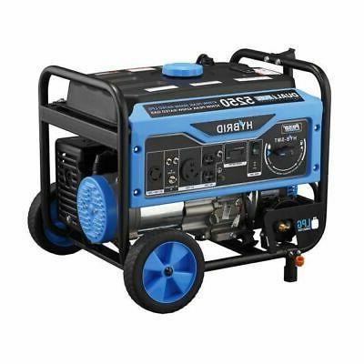 Hybrid Gas Propane Portable Generator PG5250B