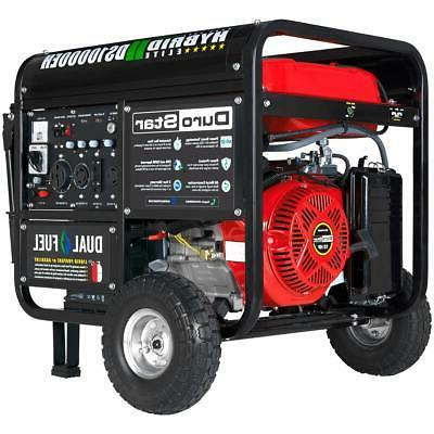 hybrid dual fuel portable gas