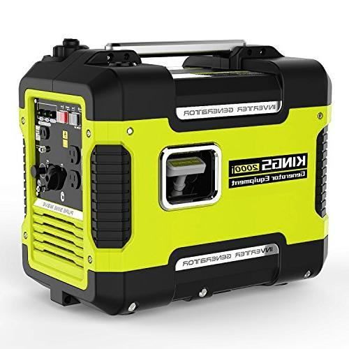 Inverter Generator Portable 2000 W,Ultra Quiet Station With 12V AC,Gas Power Generator Inverter
