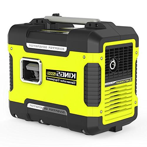 Inverter W,Ultra Quiet Generator Power Station With AC,Gas Power